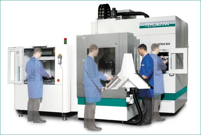 centro di lavoro CNC fehlmann ad alta ergonomia